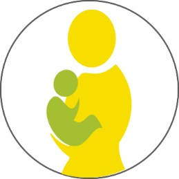 Grafik Mutter Baby